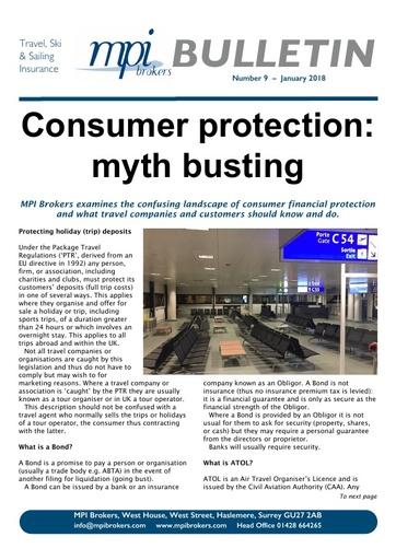 MPI Bulletin 09 - January 2018