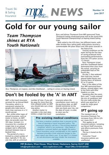MPI Newsletter 14 - June 2017