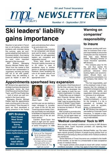 MPI Newsletter 04 - September 2014