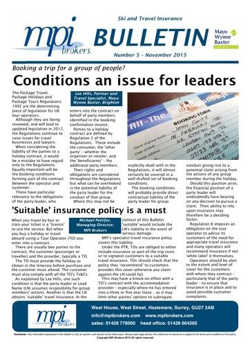 MPI Bulletin 05 - November 2015