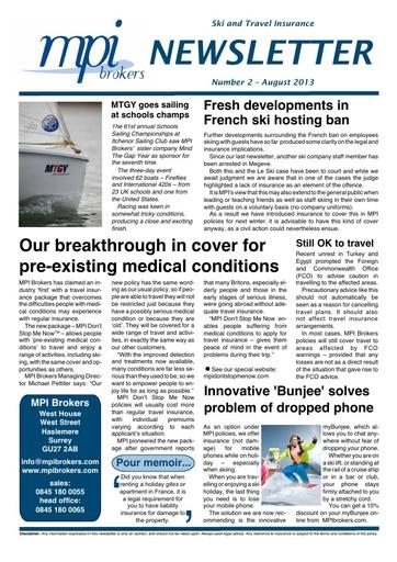 MPI Newsletter 02 - August 2013