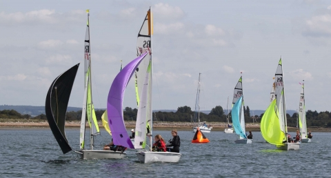 Near perfect conditions for Bosham Junior Week