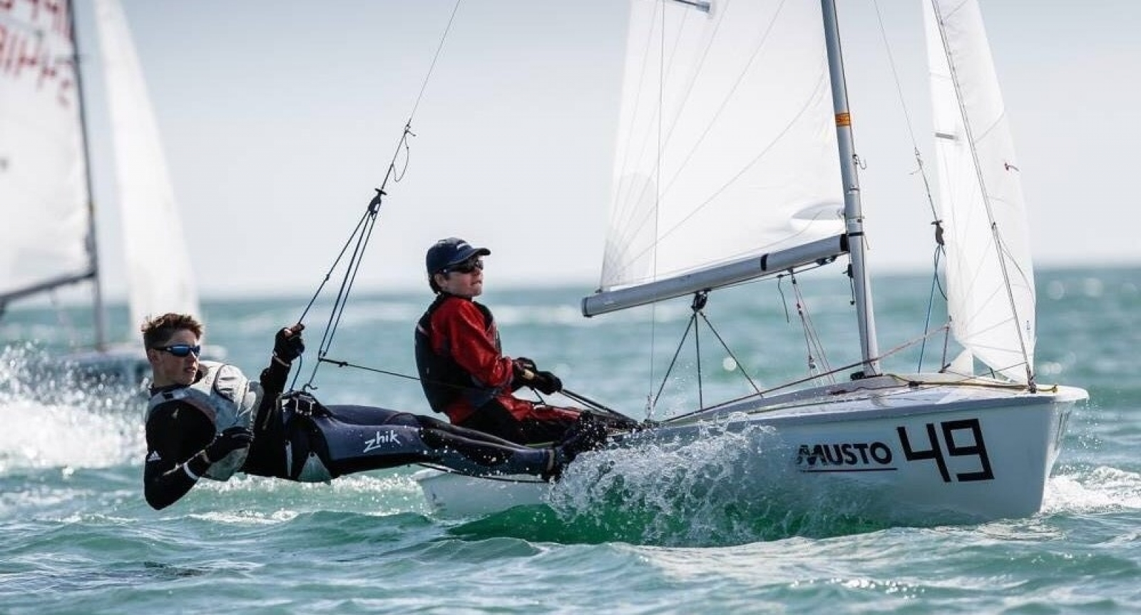 Gold for MPI sponsored sailor