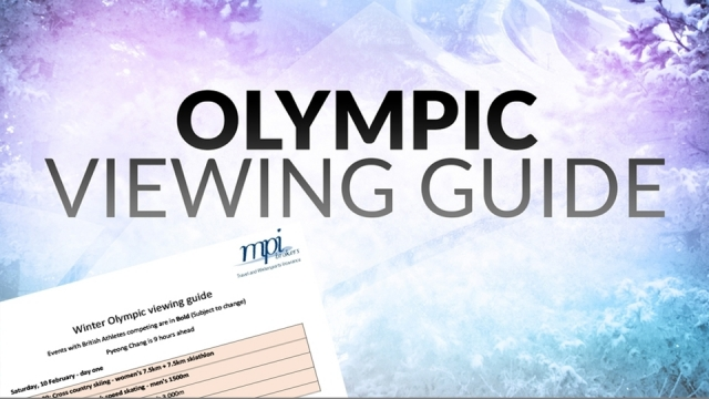 Winter Olympic Viewing Guide