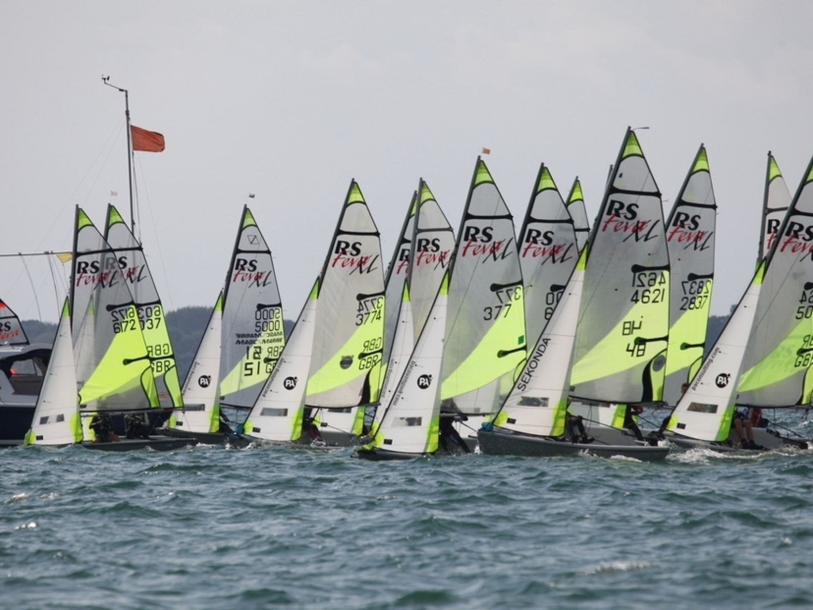 Hayling Island Sailing Club - Youth Open Race Week 2018