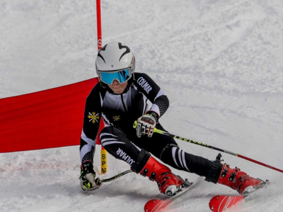 British School Boys ski race event