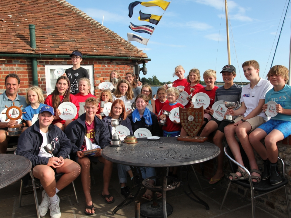 Bosham Sailing Club Junior Week 2018 – Prizegiving