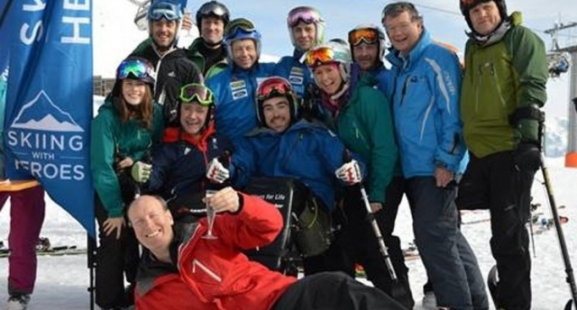 MPI's Michael Pettifer wins bronze in Skiing With Heroes Business Challenge 2015