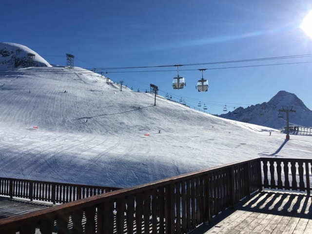 Snow and ski conditions report from Les Deux Alpes