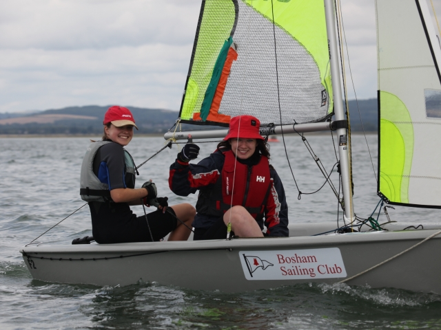 Bosham Sailing Club Junior Week 2018 – Monday Races
