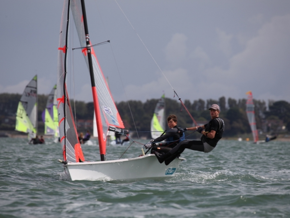 Hayling Island Sailing Club - Youth Open Race Week 2019